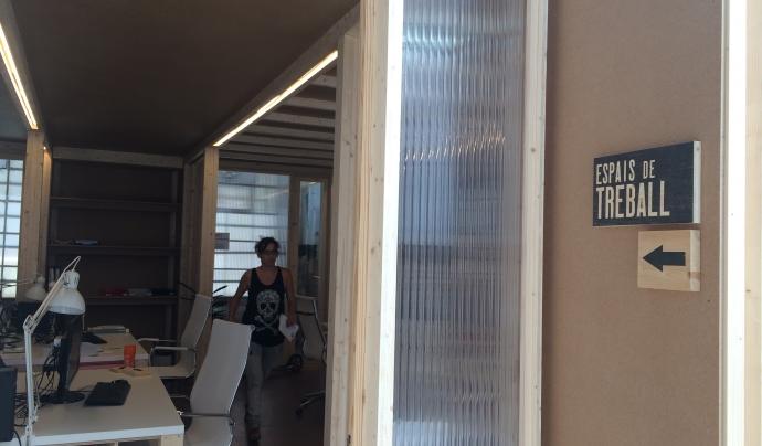 El local de l'Ateneu vol ser un punt d'assessorament i formació per a cooperatives Font: Júlia Hinojo