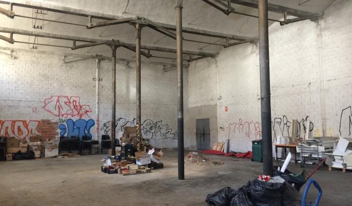Aquesta sala s'habilitarà com a espai de co-treball per a cooperatives Font: Júlia Hinojo