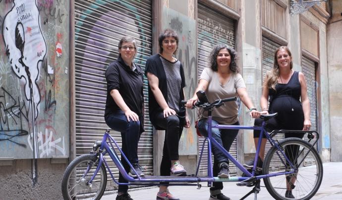 La cooperativa va rebre un premi de Barcelona Activa Font: Judit Vela