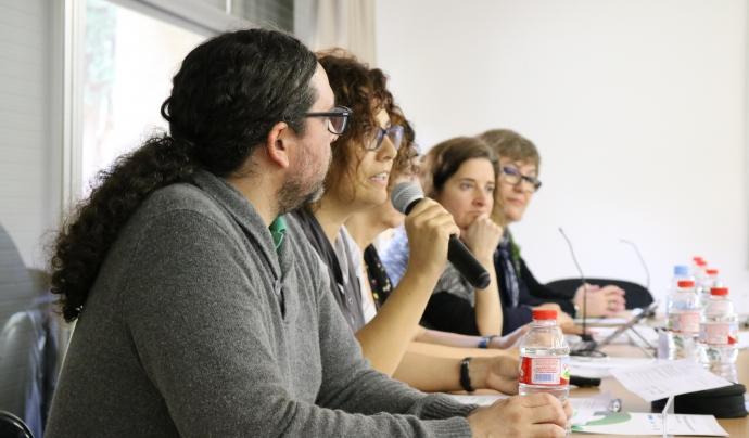 Diverses organitzacions van exposar les seves experiències  sobre la inserció laboral