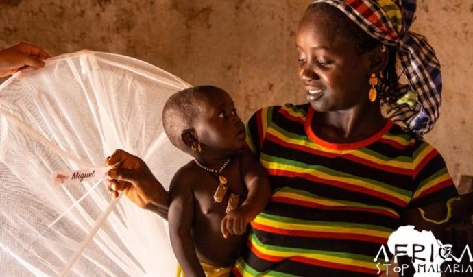 Noemí Fuster treballa a Gàmbia contra la malària des de fa 13 anys. Font: Noemí Fuster.