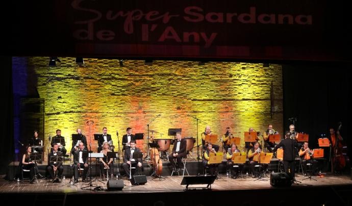 Durant l'acte de la Supersardana de l'Any es va interpretar les vuit obres finalistes. Font: portalsardanista.cat
