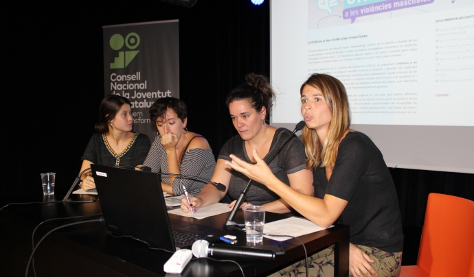 Les sessions formatives del projecte segueixen una metodologia vivencial, basada en el debat i l'autoaprenentatge. Font: CNJC. Font: Font: CNJC.