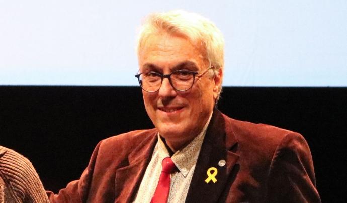 Xavier Tresserras, president de la Confederació Sardanista de Catalunya. Font: Clara Feliu