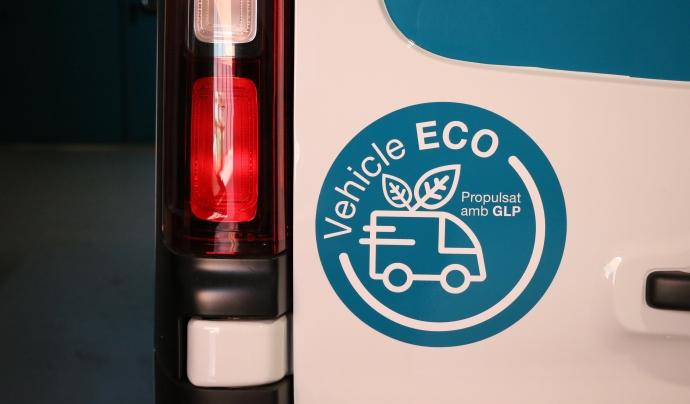 Etiqueta ECO dels nostres vehicles Font: Femarec