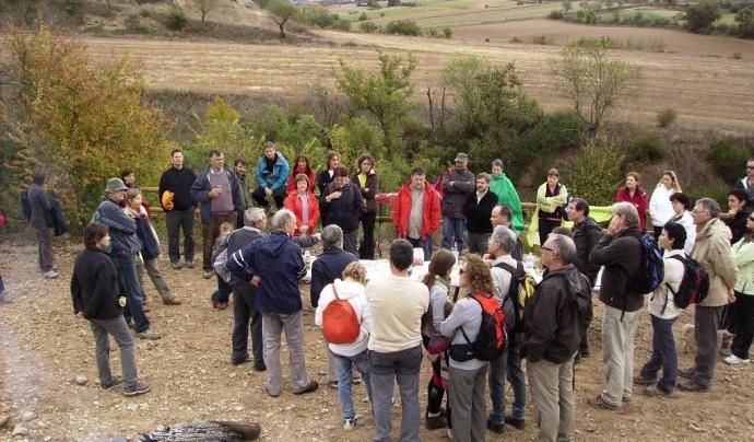 El GDMNS organitza activitats participatives de formació o conscienciació ambiental, entre d'altres. Font: Grup de Defensa del Medi Natural de la Segarra