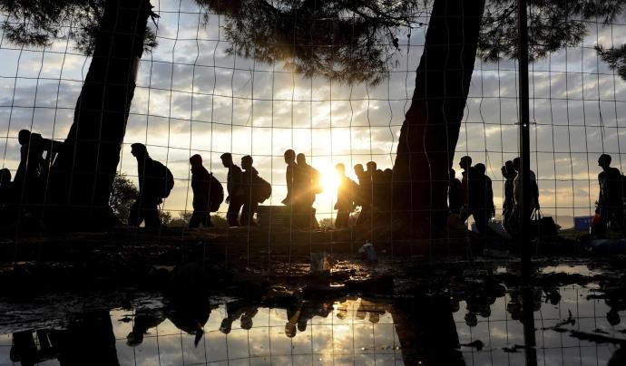 Cicle sobre la crisi de les persones refugiades - Foto: Impuls a l'Acció Social Font: