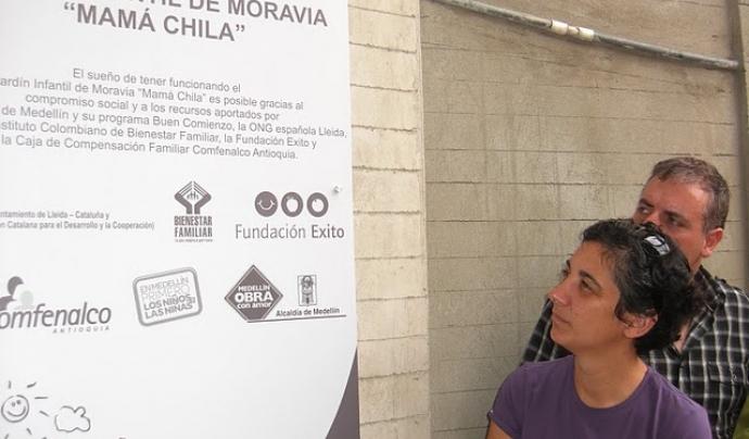 La llar d'infants Mama Chila de Medellín (Colòmbia) va ser inaugurat l'any 2012. Font: ACDC.Lleida.cat