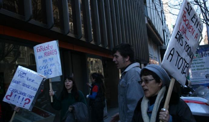 Salvem la Colònia, manifestació 3 de febrer