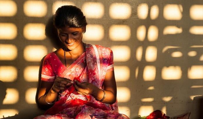 La Fundació Vicente Ferrer, amb projectes a la Índia, cerca un Tècnic/a de projectes d'Educació per al Desenvolupament. Font: Israel Gutier, Flickr