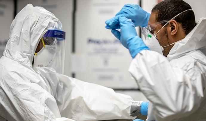 Amnistia Internacional denuncia que més de 3.000 professionals sanitaris han mort per Covid-19 al món Font: Health.mil