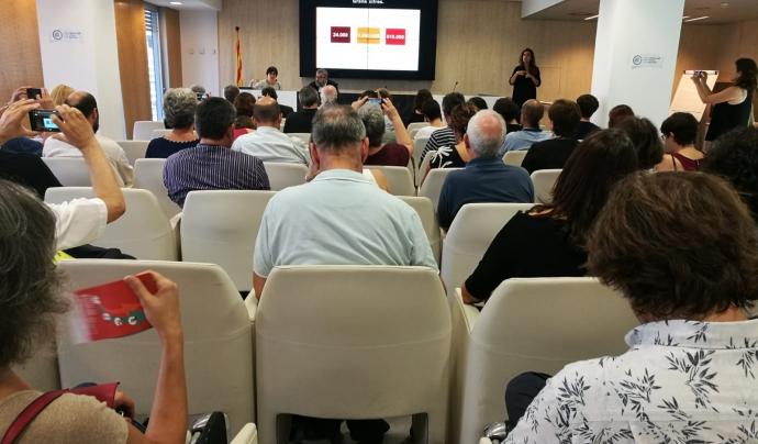 L''Informe d'associacionisme i voluntariat a Catalunya' s'ha donat a conèixer el 13 de setembre, en un acte celebrat a Barcelona Font: Colectic