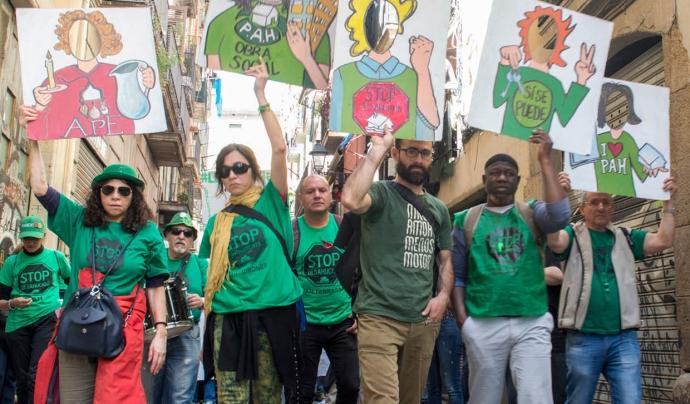 Informe sobre inseguretat residencial a Barcelona. Font: PAH