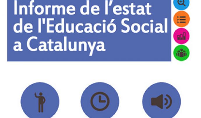 Informe de l'Estat de l'Educació Social a Catalunya 2017 Font: CEESC