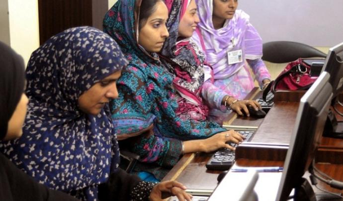 ONG d'Islamabad, en un programa de desenvolupament TIC Font: Islamabad Today