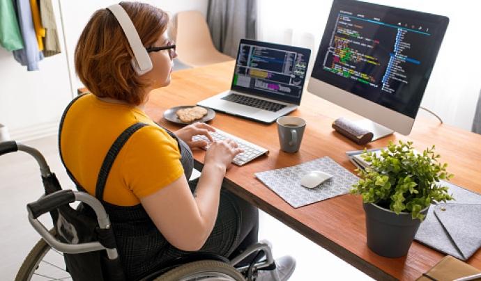 """L'associació vol que la tecnologia per a persones amb discapacitat deixi de ser """"limitada i anecdòtica"""". Font: Pixabay"""
