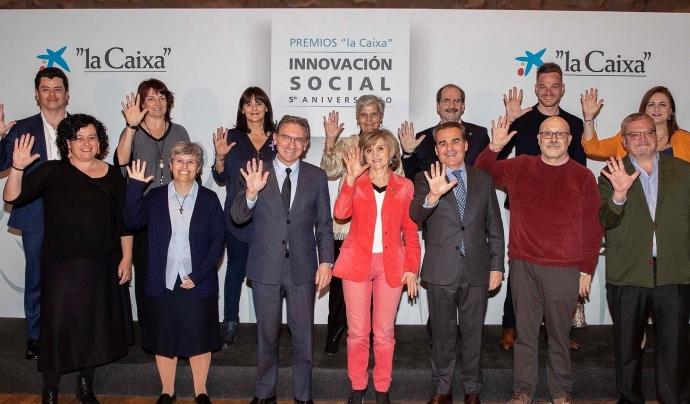 L'entitat ha estat guardonada als Premis d'Innovació Social de l'Obra Social La Caixa amb el projecte 'Cartografia de Coneixements'. Font: Associacií Educativa Itaca. Font: Font: Associació Educativa Itaca.