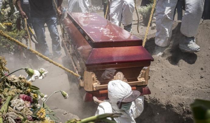 Pandemia, miradas de una tragedia Font: Jacky Muniello