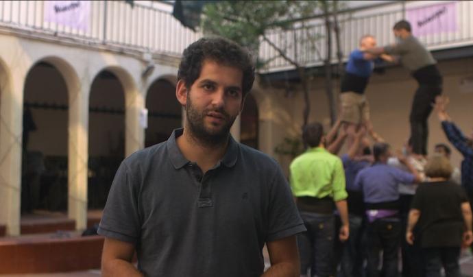 Jaume Maeso, president dels Minyons de Terrassa. Font: Carlos Faneca