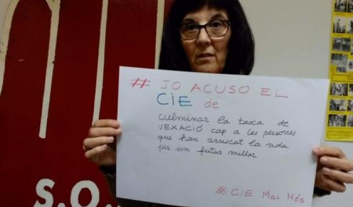 Beatriu Guarro, presidenta de SOS Racisme.