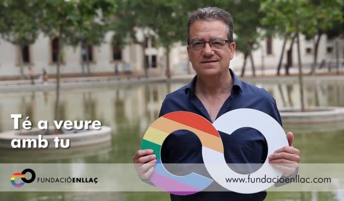 La Fundació Enllaç defensa la dignitat de les persones grans LGTBI. Font: Vimeo