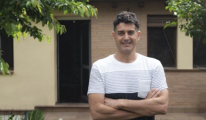 Joel López, director de l'ONG NouSol des de fa més de dotze anys. Font: ONG NouSol