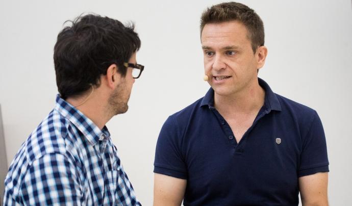 Jordi Fosas (dreta), director artístic de l'Ésdansa.
