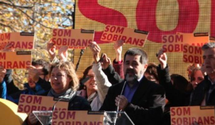 Jordi Sànchez, president de l'Assemblea Nacional Catalana.