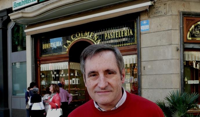 Josep Mª Roig és l'actual cap de La Colmena, la pastisseria més antiga de Barcelona. Font: Pastisseria La Colmena