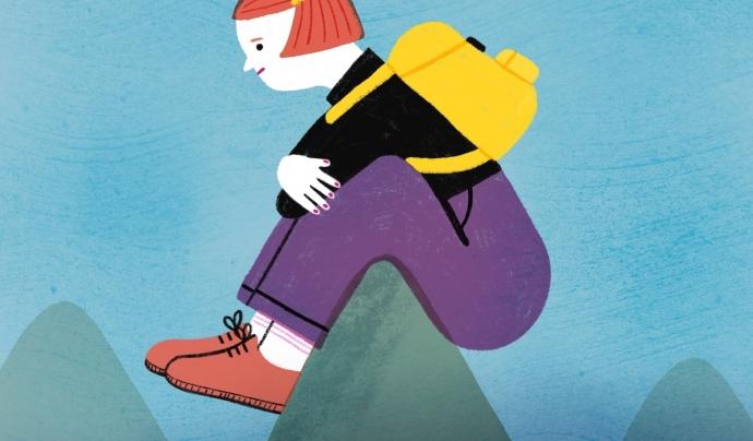 Una de les il·lustracions creades per a la campanya. Font: Júlia Solans