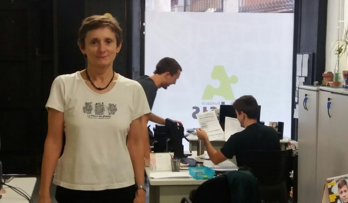 Karmele Equiza, coordinadora Fundació Adsis Casc Antic Font: Fundació Adsis