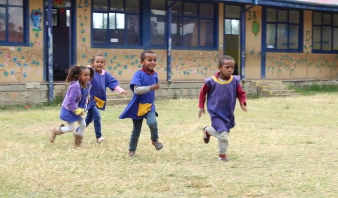 L'entitat coopera amb Etiòpia amb suport econòmic amb projectes relacionats amb la infància del país. Font: AFNE. Font: Font: AFNE.