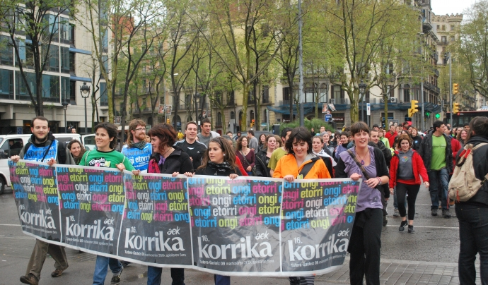 Fotografia de la Korricursa 2013