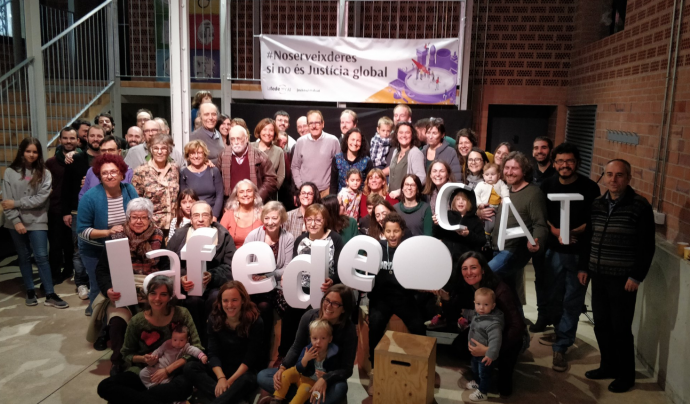 Lafede.cat celebra 30 anys de justícia global Font: Twitter @Lafede_cat