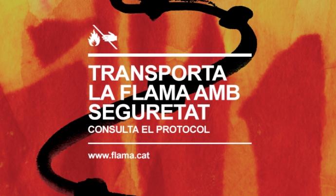 Protocol de seguretat de transport de la Flama del Canigó.