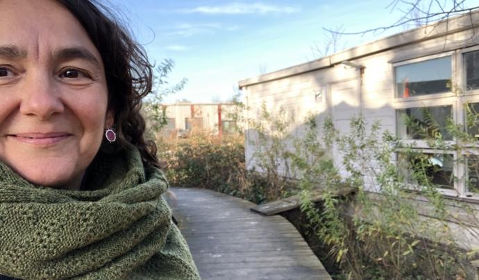 Bonet defensa que cal protegir els espais verds de les ciutats com un bé comú. Font: Laia Bonet. Font: Font: Laia Bonet.