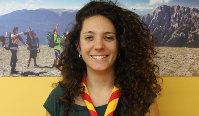 Laia Sales, membre de l'Àmbit de Participació Infantil i Juvenil de MEG