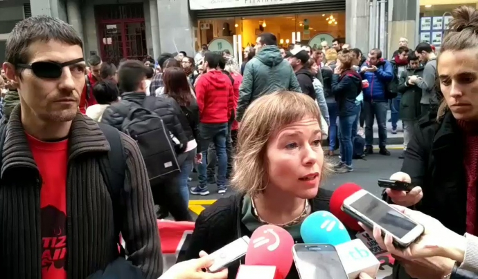 Laia Serra, advocada penalista especialitzada en drets humans. Font: Twitter. Font: Twitter
