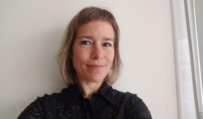 Laia Serra és advocada i forma part del grup Acoso.online de la Red Autodefensa Online Font: Laia Serra