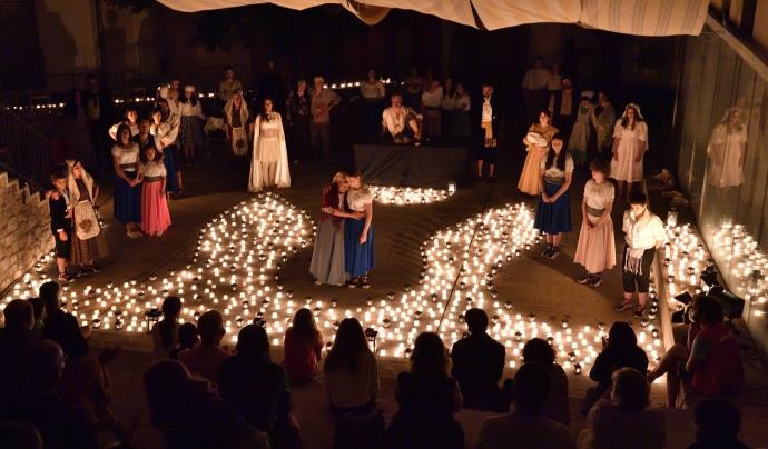 L'Apagada de Misteri és un dels espectacles més concorreguts del festival. Font: Joan Solé.