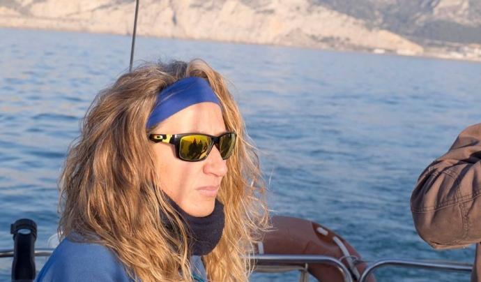 Laura Almarcha, vicepresidenta de l'Associació Cetàcea. Font: Cedida per Laura Almarcha