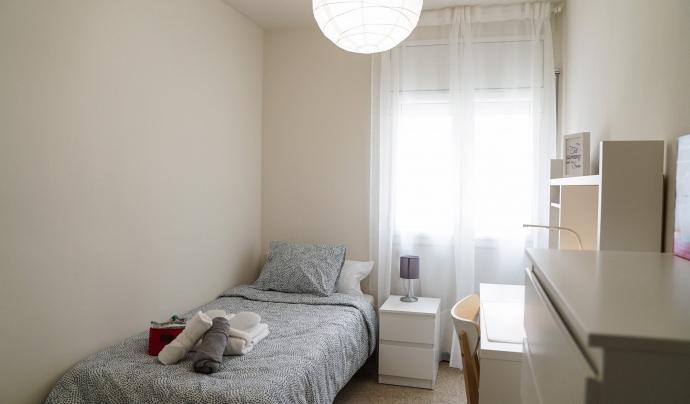 La Violeta és un centre residencial exclusiu per a dones sense llar. Font: Centre d'Acollida Assís