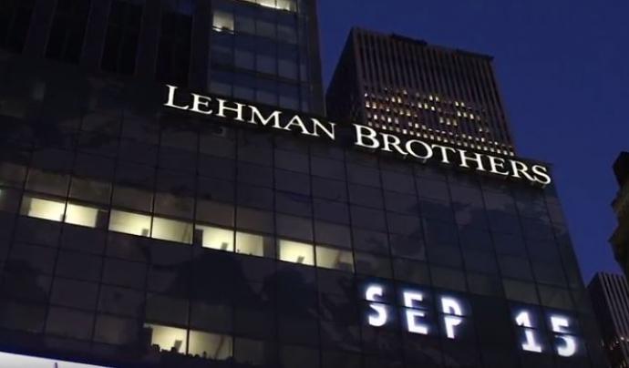 Façana edifici Lehman Brothers setembre de 2015