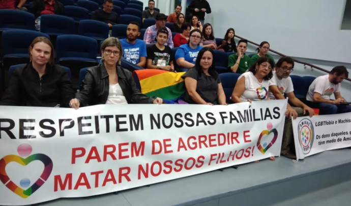 Diversos col·lectius s'estan mobilitzant al Brasil contra la lgtbifòbia. Font: IdemTV