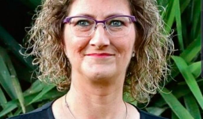 Lídia Albert, presidenta del Grup Iris, confia que la Cursa de la Dona de Figueres millori la participació de l'any passat. Font: Grup Iris