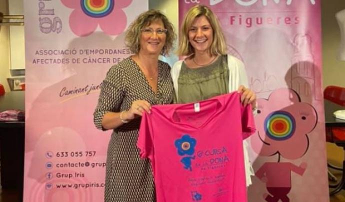 Els diners de les inscripcions a la cursa que es fa el 7 de novembre van destinats a l'atenció a les persones amb càncer de mama i les seves famílies. Font: Grup Iris