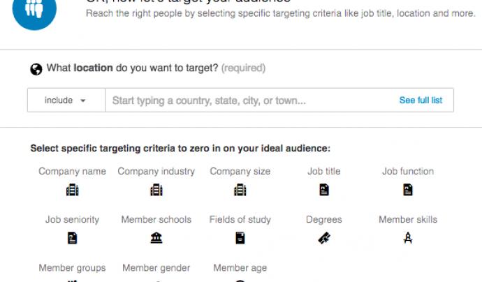 Mitjançant Linkedin es poden publicar continguts i fer que arribin a un públic objectiu.