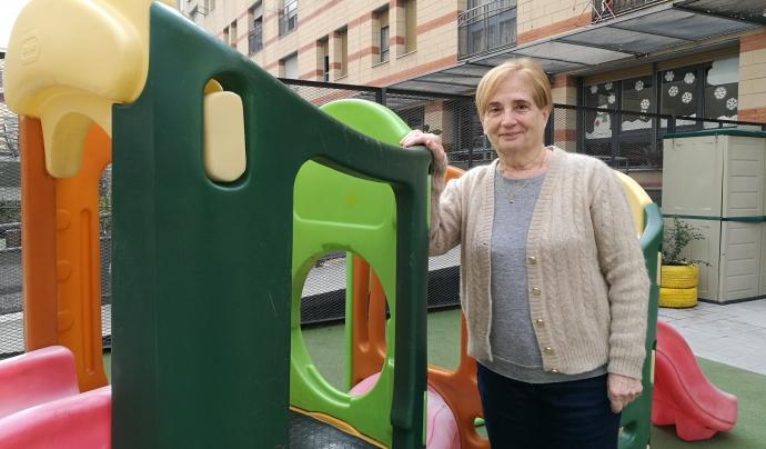 Lita Alvarez és fundadora i actual directora de la Fundació Quatre Vents Font: Colectic