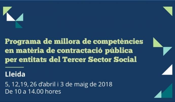 Programa de millora de competències en matèria de contractació pública a Lleida