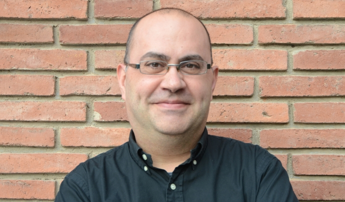 Lleonard del Río, president de la Coordinadora de Pastorets de Catalunya. Font: Lleonard del Río